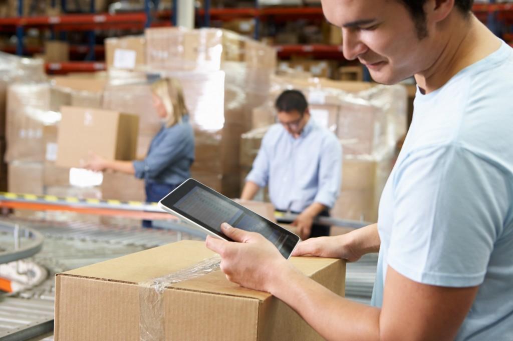 tablette logistique