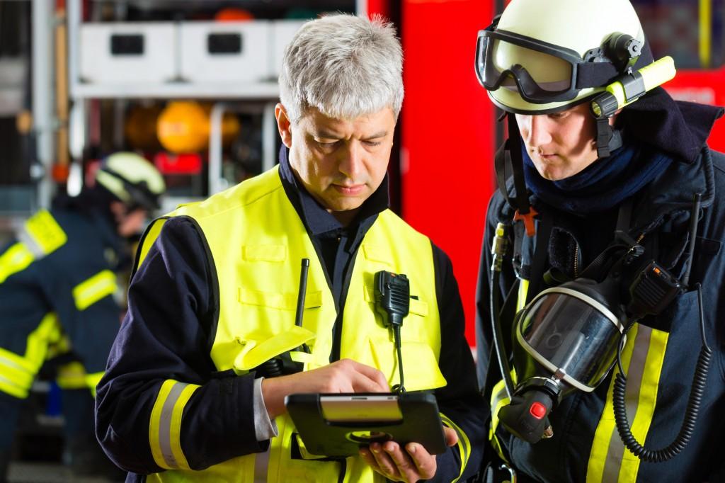 iPad fire brigade