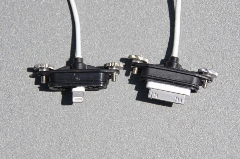 Connecteurs étanches iPad