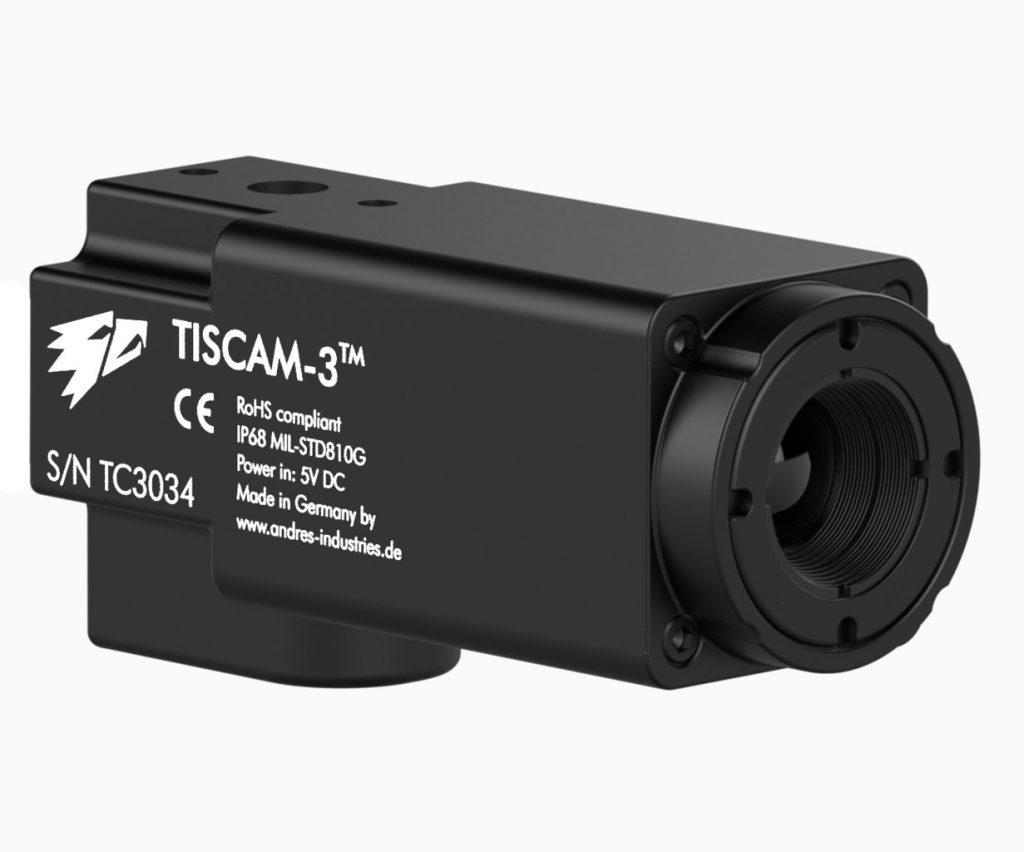Camera thermique Tiscam - coté